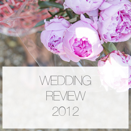 Wedding review 2012.
