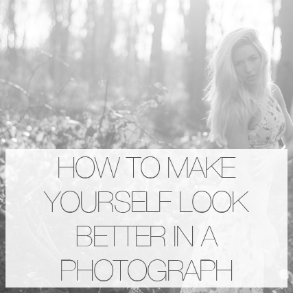 How to make yourself look better when having your photograph taken