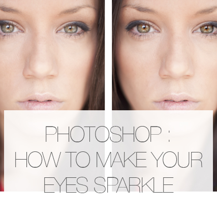 How to make an eye sparkle in Photoshop