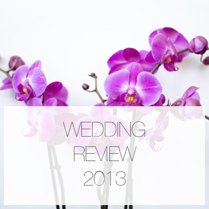 2013 wedding review