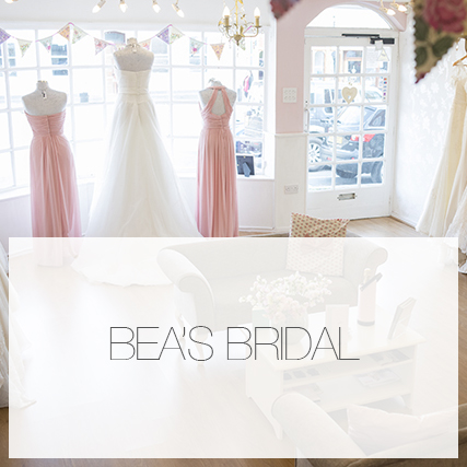 Bea's Bridal photoshoot