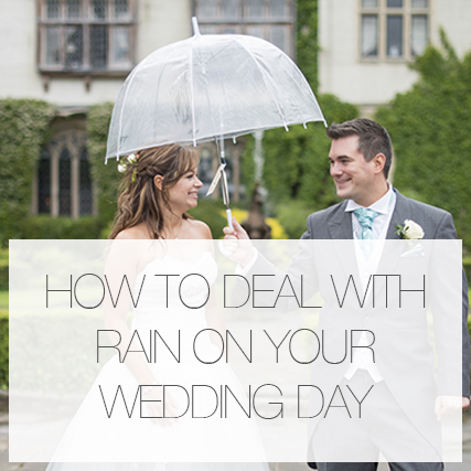 """It's like rain on your wedding day"""