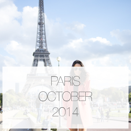 Paris trip – October 2014