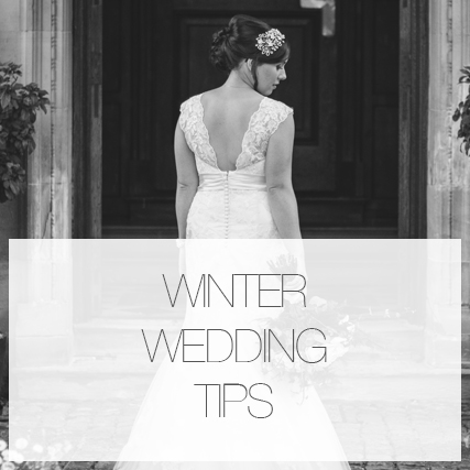 My winter wedding tips!