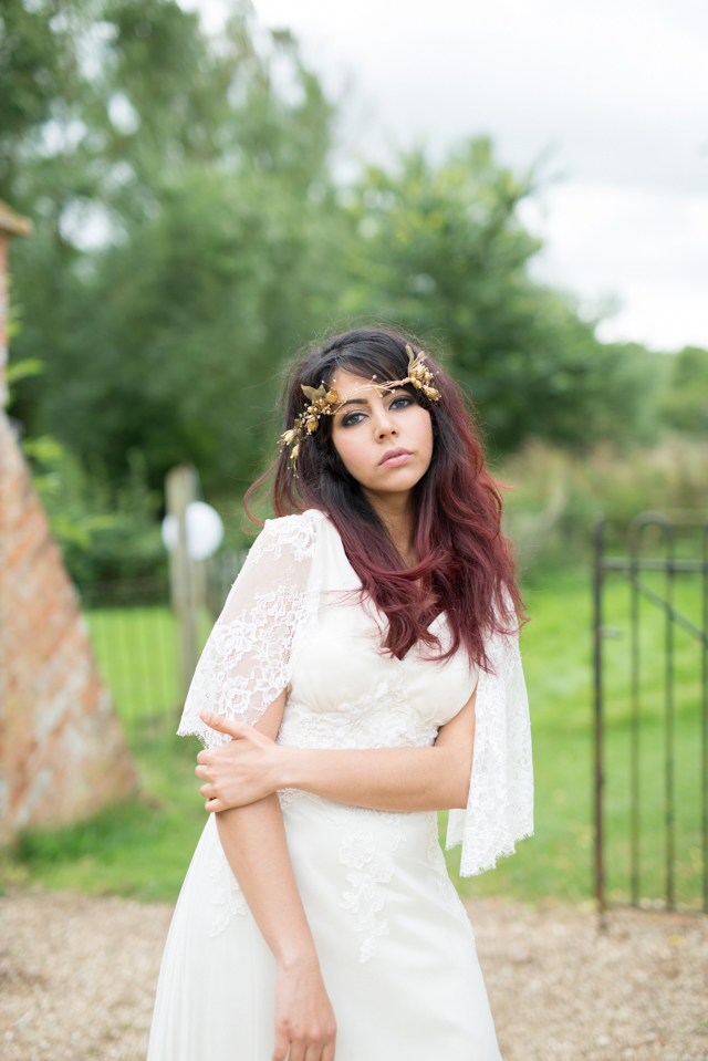 Bohemian Bride photoshoot