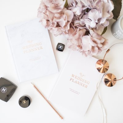 WIN A BLUSH AND GOLD WEDDING PLANNER!