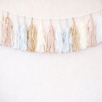 Giveaway – Paper tassel garland