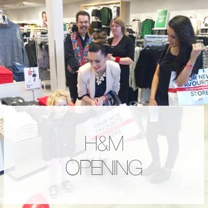 H&M Elliott's Field opening