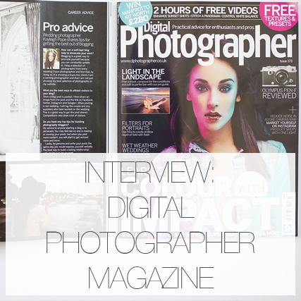 Interview : DIGITAL PHOTOGRAPHER MAGAZINE