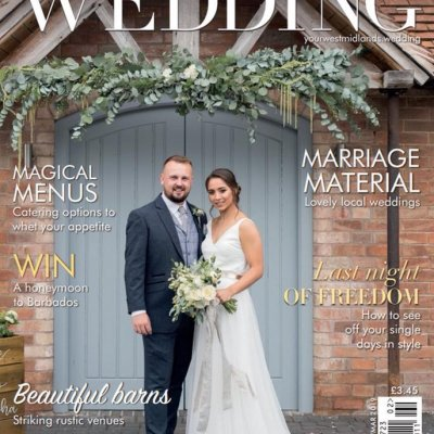 Front cover of Your West Midland wedding magazine