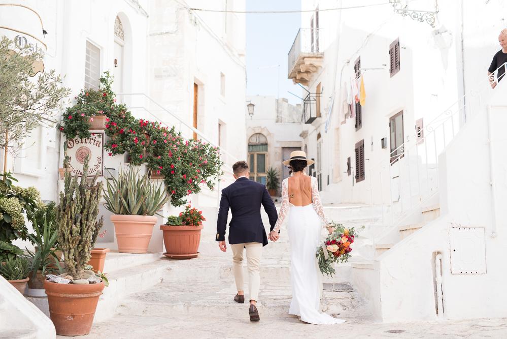 Wedding photos in Ostuni