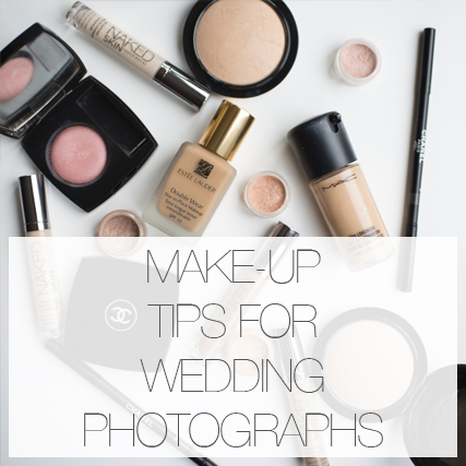 Make-up tips for your Wedding photographs